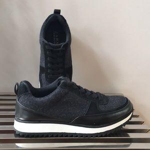 Zara black translucent sneaker 37
